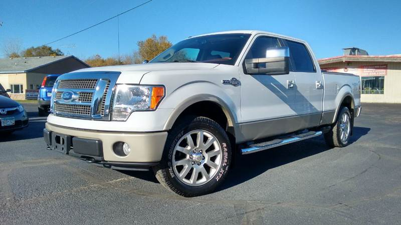 2009 ford f 150 4x4 king ranch 4dr supercrew styleside 6 5 ft sb in saint cloud mn jml auto sales. Black Bedroom Furniture Sets. Home Design Ideas