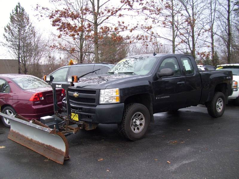 2009 chevrolet silverado 1500 4x4 work truck 4dr extended cab 6 5 ft sb in derry nh second. Black Bedroom Furniture Sets. Home Design Ideas