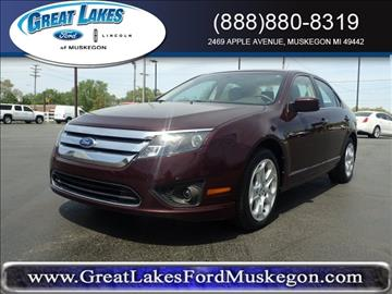 2011 Ford Fusion for sale in Muskegon, MI