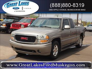 2001 GMC Sierra C3 for sale in Muskegon, MI