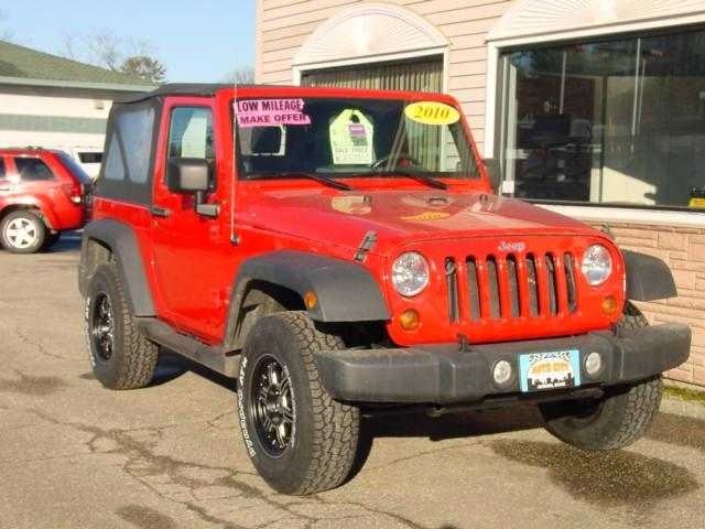 2010 Jeep Wrangler for sale in Auburn ME