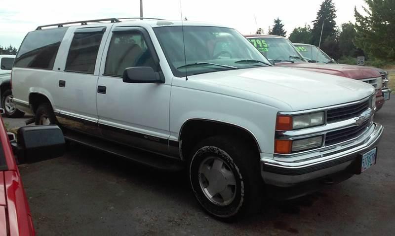 1997 Chevrolet Suburban K1500 4dr 4wd Suv In Vancouver