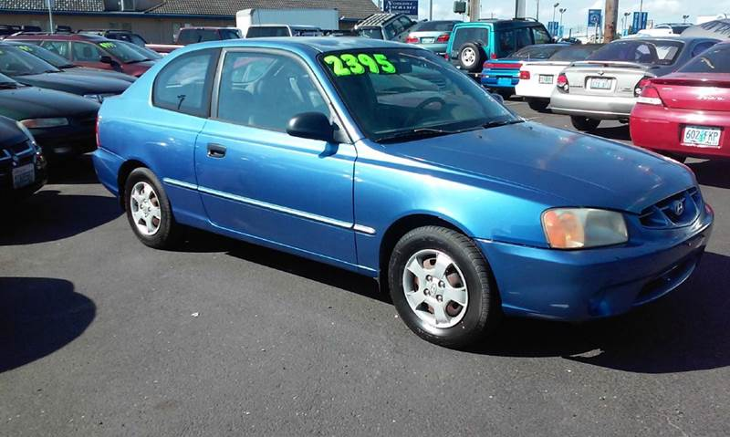 2001 Hyundai Accent Gs 2dr Hatchback In Vancouver Wa