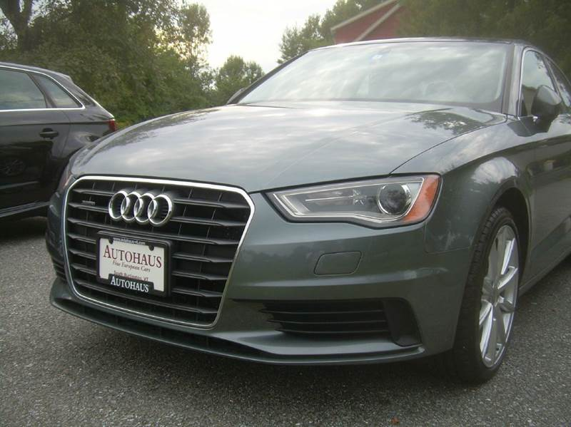 2015 Audi A3 AWD 2.0T quattro Premium Plus 4dr Sedan - South Burlington VT