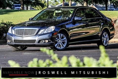 2011 Mercedes-Benz E-Class for sale in Roswell, GA