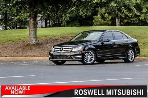 2012 Mercedes-Benz C-Class for sale in Roswell, GA