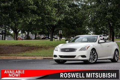 2009 Infiniti G37 Convertible for sale in Roswell, GA