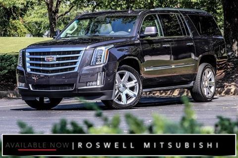 2017 Cadillac Escalade ESV for sale in Roswell, GA