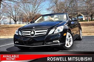 Mercedes benz for sale roswell ga for Mercedes benz roswell