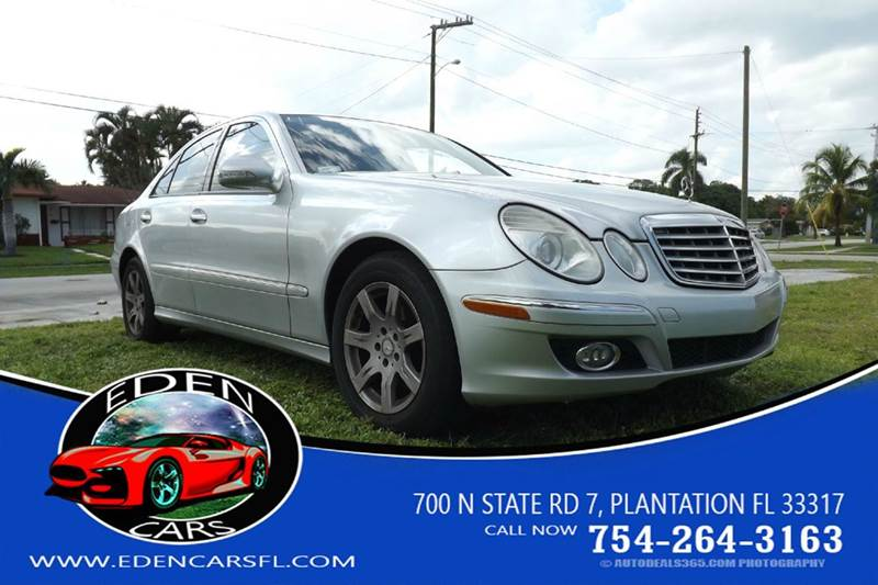 Mercedes benz e class for sale in plantation fl for 2009 mercedes benz e320 bluetec for sale