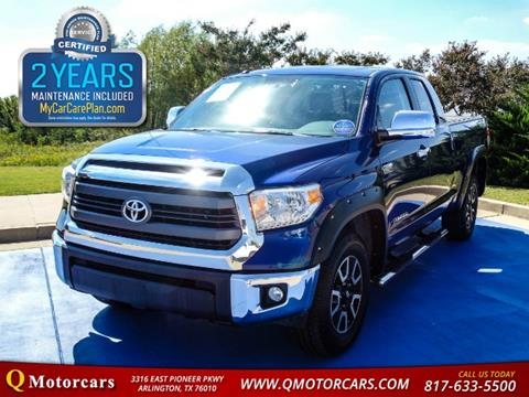 2014 Toyota Tundra for sale in Arlington, TX