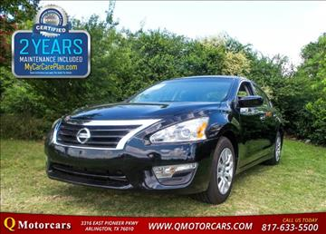 2015 Nissan Altima for sale in Arlington, TX