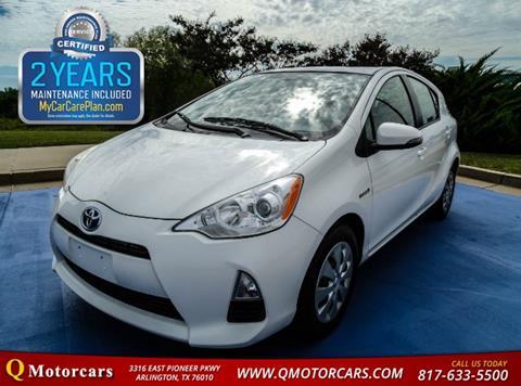2013 Toyota Prius c for sale in Arlington, TX