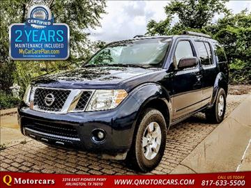 2009 Nissan Pathfinder for sale in Arlington, TX