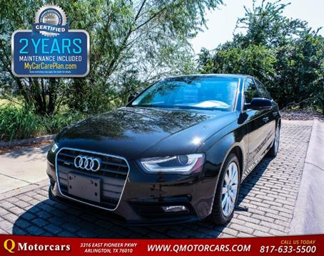 2013 Audi A4 for sale in Arlington, TX