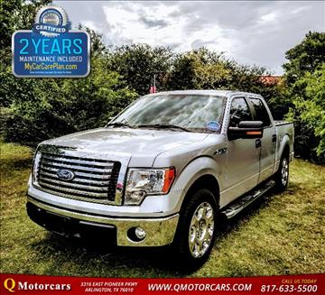 2011 Ford F-150 for sale in Arlington, TX
