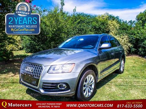 2013 Audi Q5 for sale in Arlington, TX