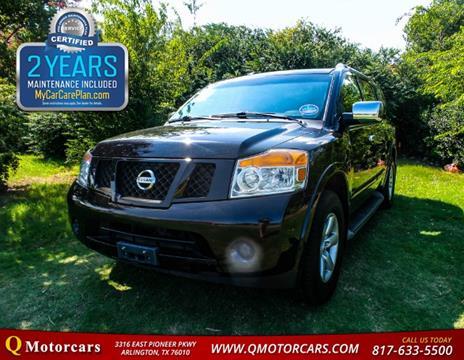 2012 Nissan Armada for sale in Arlington, TX