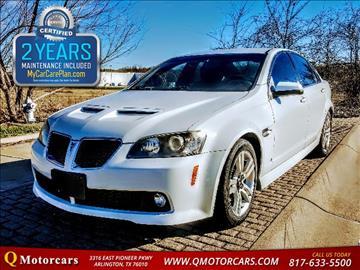 2008 Pontiac G8 for sale in Arlington, TX