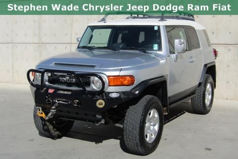 Toyota Fj Cruiser For Sale >> Toyota Fj Cruiser For Sale In Utah Carsforsale Com
