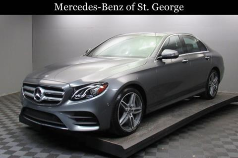 Mercedes benz e class for sale in utah for Mercedes benz of st george