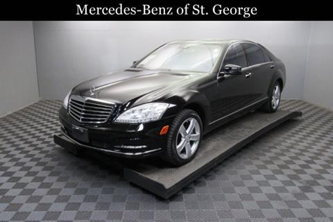 Used mercedes benz s class for sale in utah for Mercedes benz of st george