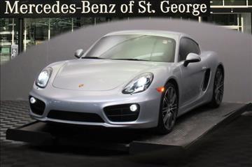 2015 Porsche Cayman for sale in Saint George, UT