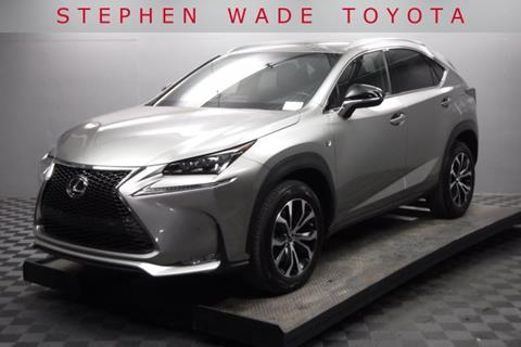 Lexus Nx 200t For Sale >> Used Lexus Nx 200t For Sale In Utah Carsforsale Com