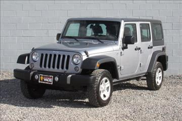 2015 Jeep Wrangler Unlimited for sale in Saint George, UT