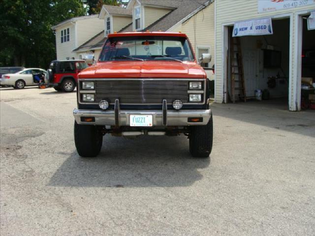 1982 Chevrolet C/K 10 Series