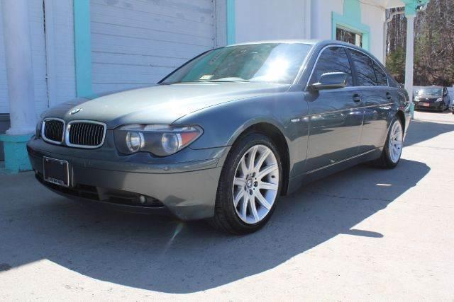 2003 BMW 7 Series
