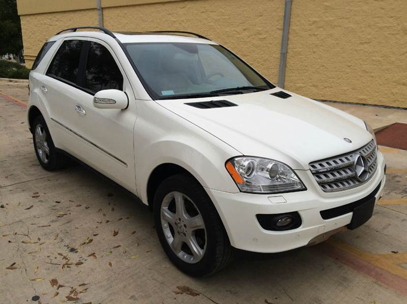 2007 mercedes benz m class ml500 awd 4matic 4dr suv in san for 2007 mercedes benz ml350 4matic