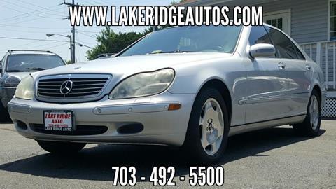 2001 Mercedes-Benz S-Class for sale in Woodbridge, VA