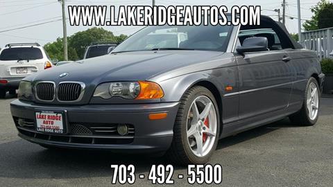 2002 BMW 3 Series for sale in Woodbridge, VA