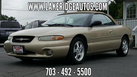 2000 Chrysler Sebring for sale in Woodbridge, VA