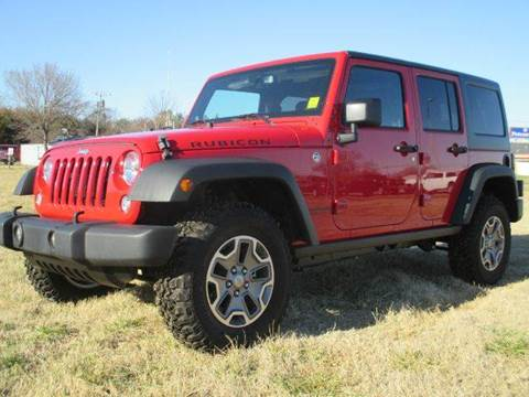 2014 Jeep Wrangler Unlimited for sale in Poteau, OK