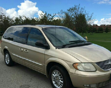 2001 Chrysler Town and Country for sale in Greenville, SC