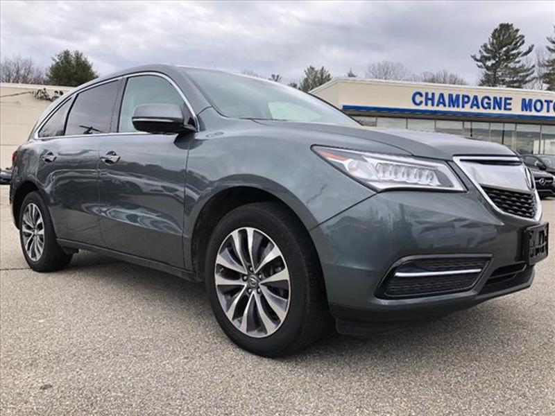 Acura Used Cars Pickup Trucks For Sale Willimantic Champagne Motor ...