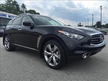 2013 Infiniti FX50 for sale in Willimantic, CT