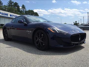 2014 Maserati GranTurismo for sale in Willimantic, CT
