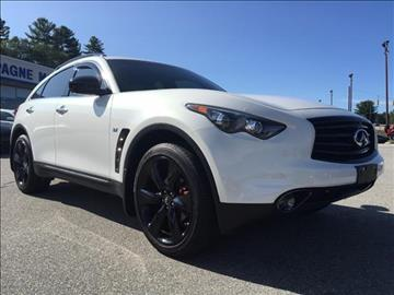 2016 Infiniti QX70 for sale in Willimantic, CT