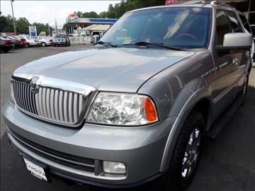 2006 lincoln navigator for sale virginia. Black Bedroom Furniture Sets. Home Design Ideas