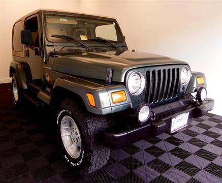 2002 Jeep Wrangler for sale in Stafford, VA