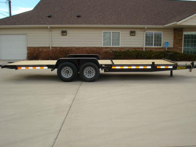 New 2014 KAUFMAN 7 X 22 WOOD DECK TILT TRAILER in Big Timber MT at ...