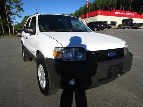 2007 Ford Escape Hybrid for sale in Raleigh, NC