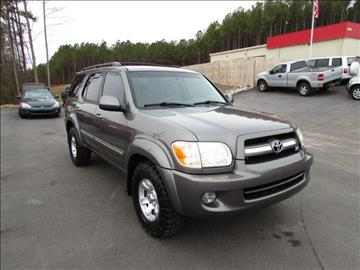2005 Toyota Sequoia for sale in Raleigh, NC