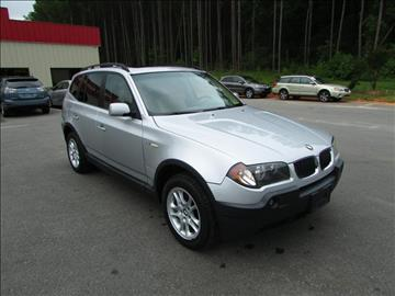 2004 BMW X3 for sale in Raleigh, NC