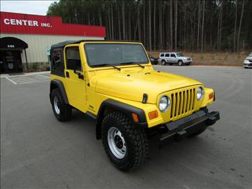 2004 Jeep Wrangler for sale in Raleigh, NC