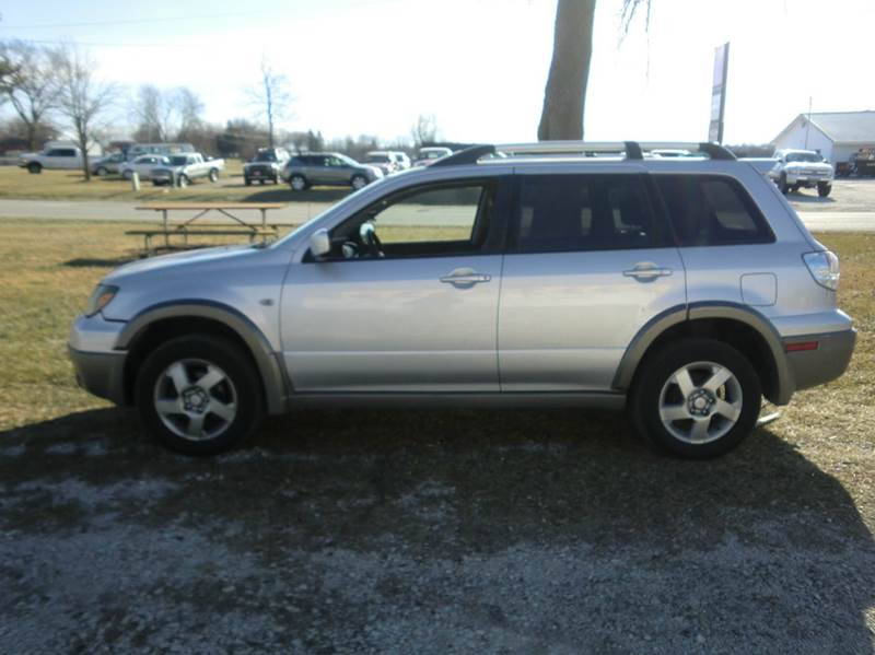 2003 mitsubishi outlander awd xls 4dr suv in murray ia. Black Bedroom Furniture Sets. Home Design Ideas
