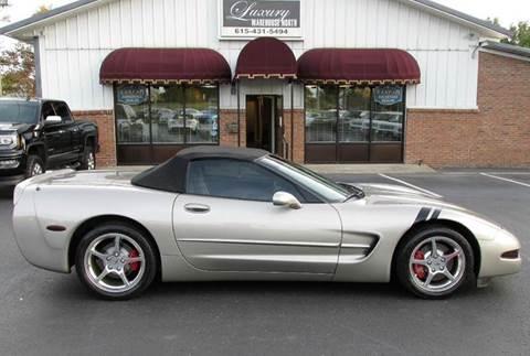 2002 Chevrolet Corvette for sale in Hendersonville, TN
